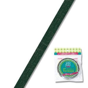 即日 フローラテープ12.5mm グリーン/MTR86000001 00 //花 資材 テープ フローラテープ