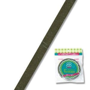 OOO フローラテープ12.5mm オリーブグリーン MTR86000004 00   花 資材 テープ フローラテープ