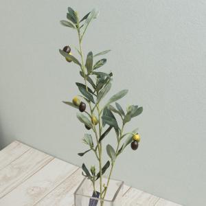即日  造花 オリーブブランチ グリーン FG4418-GR 00   造花 グリーン オリーブ
