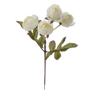 即日 造花 YDM ミニローズピック クリーム FB -2447-CR 造花 花材「は行」 バラ