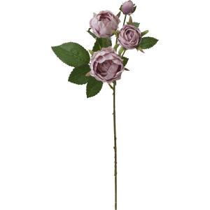 造花 YDM ミルフィーユローズスプレー ライトモーブ FA7057-L M|造花 バラ 01 造花 花材「は行」 バラ