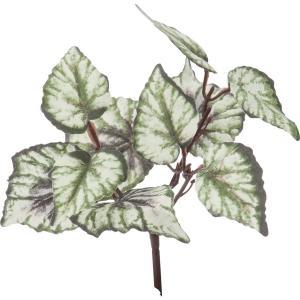 造花 YDM ミニベゴニアリーフブッシュ グリーン FG4710-GR 01 造花葉物 ベゴニア