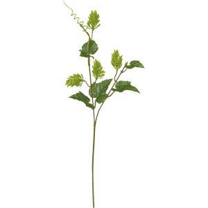 造花 YDM ホップスプレー グリーン FG4801-GR 01 造花 花材「は行」 ホップ