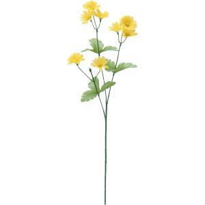 造花 YDM デージースプレー イエロー FF2887-Y 01 造花 花材「た行」 デージー