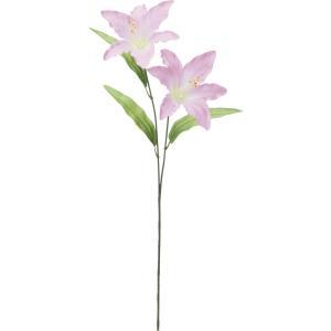 造花 YDM ユリX2 ピンク FF2878-P 01 造花 花材「や行」 ユリ 百合 リリー