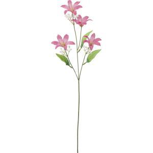 造花 YDM リリーカスミ付き ビューティー FF2880-BTY 01 造花 花材「や行」 ユリ 百合 リリー