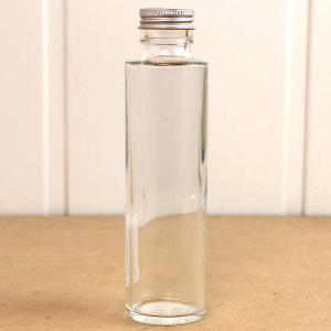 即日 ハーバリウム瓶 丸 150ml アルミ銀キャップ付 花資材 道具 ハーバリウム材料 ハーバリウム 瓶