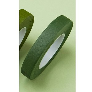即日 ミレニアムアート フラワーテープ グリーン ML600-02 00   花 資材 テープ フローラテープ