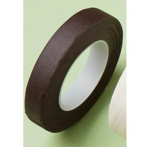 即日 ミレニアムアート フラワーテープ ブラウン ML600-48 00   花 資材 テープ フローラテープ