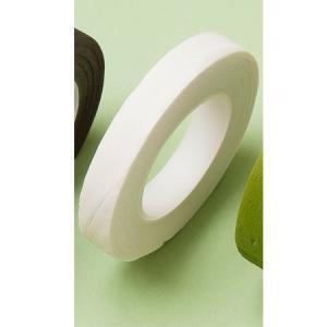 即日 ミレニアムアート フラワーテープ ホワイト ML600-01 00   花 資材 テープ フローラテープ