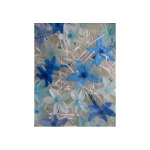 プリザーブド 南原農園 キララポップ ブルー系色 25輪入り か行 小花|hanadonya