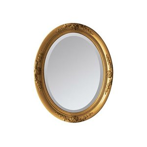 SPICE ANCIENT MIRROR OVAL L GOLD SQM803LGD 01  インテリア ミラー|hanadonya