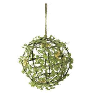 造花 SPICE DECOR IMITATION GREEN BALL XHDY4040 01  2個 造花葉物、フェイクグリーン 多肉植物|hanadonya