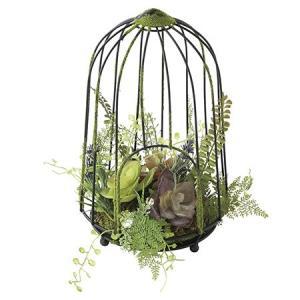 造花 SPICE DECOR IMITATION GREEN CAGE XHDY4050 01  造花葉物、フェイクグリーン 多肉植物|hanadonya