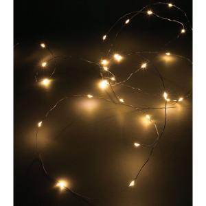 SPICE LEDワイヤーガーランド シルバー 3.3m KCXG3580 6個 クリスマス飾り ガーランド チェーン hanadonya
