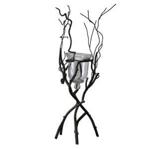 SPICE アイアンブランチフラワーベーススタンド XSGH2050 花器 花瓶 ブリキ アイアン アルミ花器 hanadonya