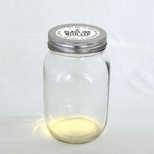SPICE LEDガラスジャー ふた穴なし Lサイズ WFDR2013 4個 インテリア 置物 オブジェ hanadonya
