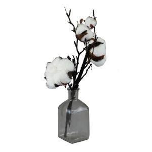 造花 SPICE イミテーションコットンフラワー ベースアレンジ Sサイズ XHDY8021 3個 造花ギフト フラワーアレンジ|hanadonya