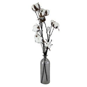造花 SPICE イミテーションコットンフラワー ベースアレンジ Lサイズ XHDY8023 2個 造花ギフト フラワーアレンジ|hanadonya