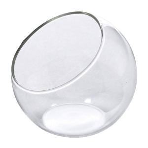 SPICE ミニガラスフラワーベース ドーム クリア NAGK1910 12個 花器 花瓶 ガラス花器|hanadonya