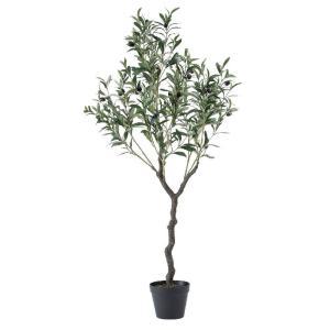 人工観葉植物 SPICE フェイクグリーン オリーブの木 120cm CXGK1013 人工観葉植物「あ行」 オリーブ|hanadonya