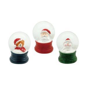 丸和貿易 スノードーム メリークリスマス S 3 400818900 クリスマス飾り スノードーム 卓上イルミネーション hanadonya