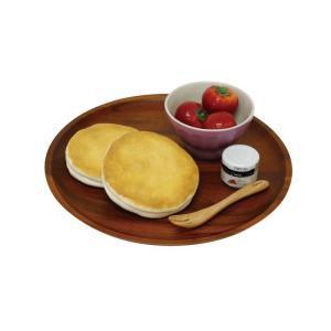 丸和貿易/アカシア 丸プレート30cm/100380702//キッチン用品・調理器具 和食器 hanadonya