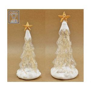 丸和貿易 LEDトゥインクルスター スノーフレイク  L  400857602 クリスマス飾り スノードーム 卓上イルミネーション hanadonya