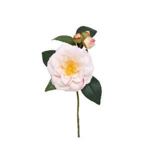 売り切り特価 造花 パレ 椿 クリームピンク P-2020-13 造花 花材「た行」 ツバキ 椿