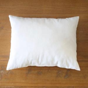 オーガニックコットン100%のハギレを詰めた華布のエシカル枕 [カバーなし] お昼寝枕 お昼寝まくら オーガニックコットン hanafu