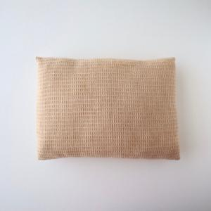 オーガニックコットン100%のハギレを詰めた華布のエシカル枕 極み お昼寝枕 お昼寝まくら オーガニックコットン hanafu