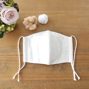 華布の極上布マスク Lサイズ オーガニックコットン 洗える マスク 秋冬 保湿  肌荒れ 大きめ 男性|hanafu