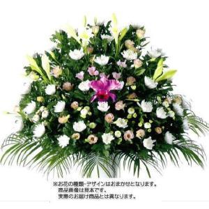 [サイズ] -  [コメント] 通常より、上級なお花を使った葬儀用生花です。 ページ下の「各都道府県...