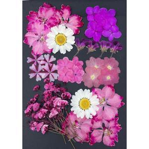 e6f1367b76 押し花 セット ピンク Mix お花屋さんの上質な押し花 上質 押し花 押し花 ハンドメイド UV ...