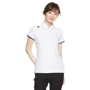 デサントゴルフ DESCENTE GOLF デサントゴルフ 半袖シャツ DGWLJA08 WH00 WH00 ホワイト Lの商品画像|ナビ