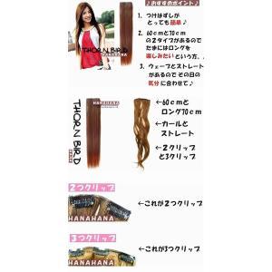 ウィッグ つけ毛 バラ売りカールエクステンション 2クリップ 7色カラー耐熱or通常 カールウィッグ ウイッグ 耐熱ウィッグ エクステ|hanahanahanahana