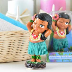 ハワイアン雑貨 ミニチュアダッシュボートドール ケイキポージング キッズ 子供 ハワイアンフラドール 人形 フラダンス フラ インテリア雑貨 カーアク|hanahawaii