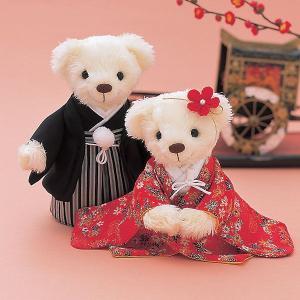 結婚式の手作りキット「和装 色打掛」和装ウェディングベアCLK69-140|hanakobo-wedding