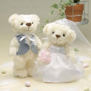 結婚式 手作りキット「ウェディングベア・ティアラビーズ」結婚式、ウェディングにv|hanakobo-wedding