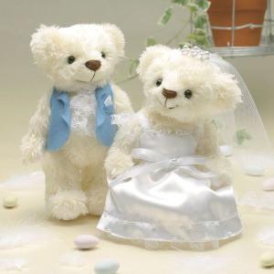 手作りキット「ウェディングベア・ティアラパール」結婚式、ウェディングにCLK69-685|hanakobo-wedding
