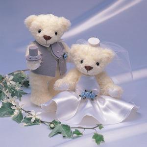 結婚式 手作りキット「ウェディングベア・クラシックローズ」結婚式、ウェディングにCLK69-885|hanakobo-wedding