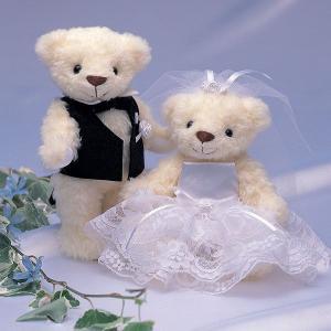 手作りキット「ウェディングベア・エレガンスローズ」結婚式、ウェディングにCLK69-886|hanakobo-wedding