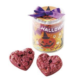 ハロウィンお菓子 配る 業務用「ハロウィンタワーハートクランチ」 ばらまき用 大量 個包装 子供 プチギフト CSP1417-1062|hanakobo-wedding