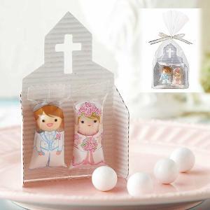 プチギフト お菓子 結婚式配る「チャペルチョコ」 販促 業務用にも CS1317-1073|hanakobo-wedding