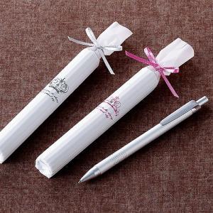 プチギフトおしゃれな雑貨 お礼 お返しばらまき用「ロイヤルペン」結婚式 退職 異動 個包装 会社職場 業務用 大量CS1419-1089|hanakobo-wedding