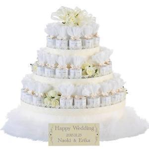 飾れるプチギフト お菓子 結婚式「レースデコレーション・ホワイト(クッキー)43個セット」 CS1306-1015|hanakobo-wedding