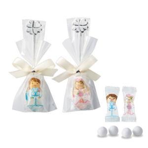 プチギフト お礼 結婚式配る「幸せスプーン(チョコ)」イベント 販促 業務用CS1317-1075|hanakobo-wedding