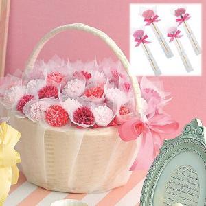 飾れるプチギフト結婚式「ピンクフレア(耳かき)42個セット」 CS1312-1051|hanakobo-wedding