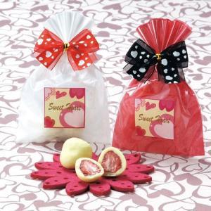 クリスマス お菓子 プチギフト子ども「スィートストロベリーチョコ1個 苺チョコレート 」個包装 大量 業務用 子供 会HFP42803 hanakobo-wedding