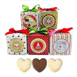 クリスマス お菓子のプチギフト配る「クリスマスハッピーキューブCC(クッキー)」結婚式 イベント 販促 業務用 大量 個包装 HZW-CHC01 hanakobo-wedding
